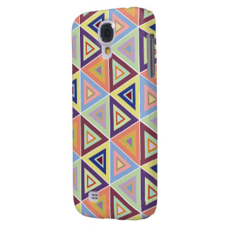 large triangular pattern tile samsung galaxy S4 Galaxy S4 Cases