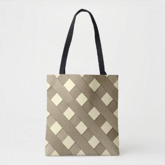 Lattice Fence Tote Bag