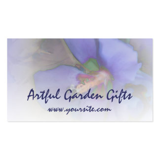 Lavender Blue Hibiscus Pack Of Standard Business Cards