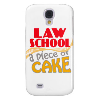 Law School - Piece of Cake Samsung Galaxy S4 Covers