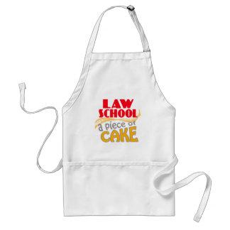 Law School - Piece of Cake Standard Apron