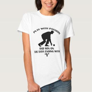 Lawn Bowl design T-shirt