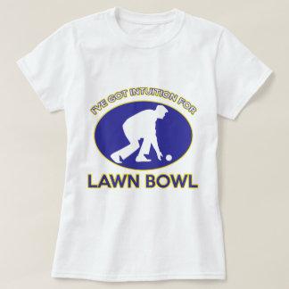 Lawn Bowl design T Shirts