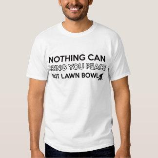 Lawn Bowl design Tee Shirt