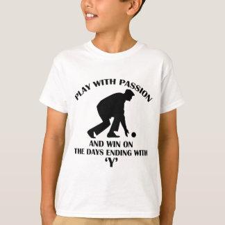 Lawn Bowl design Tshirts