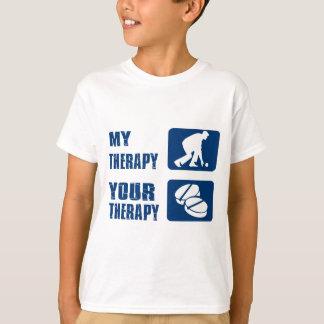 Lawn bowl therapy designs shirt