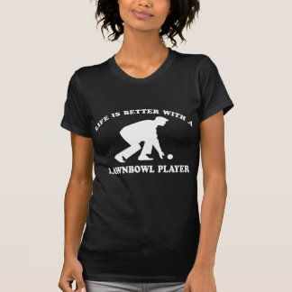 Lawnbowling vector designs tee shirt