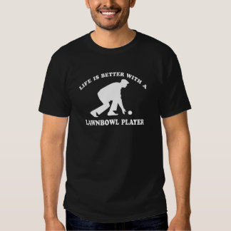 Lawnbowling vector designs tee shirts
