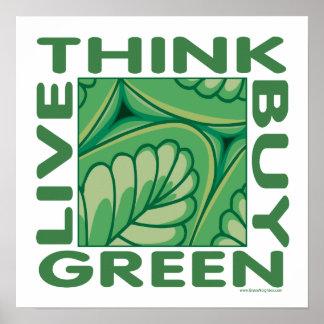 Leaf Design Poster