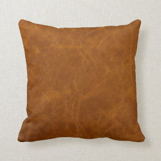 Leather Swatch Study Design #3 Throw Cushions
