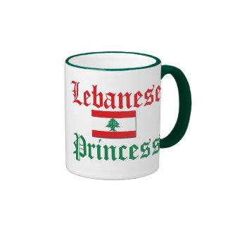Lebanon Princess Ringer Mug