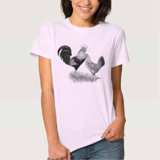 Leghorns Production Brown Chickens Tee Shirt