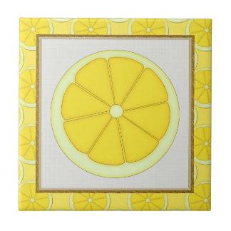 Lemon Kitchen tile
