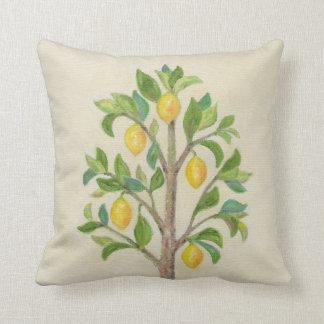 Lemon Tree throw pillow Throw Cushion