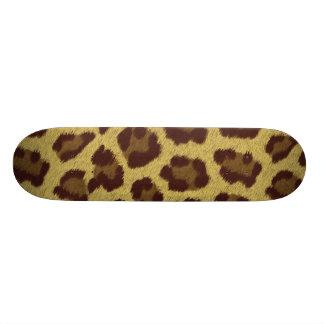 'LEOPARD' skateboard