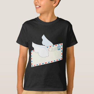 Letter with Wings T-shirts