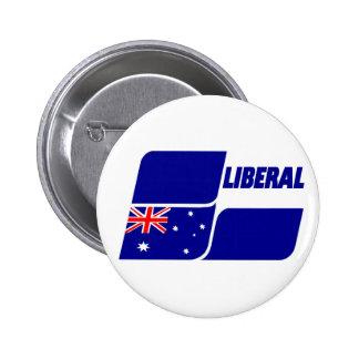 Liberal Party of Australia 2013 6 Cm Round Badge