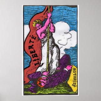 liberte (liberty) poster