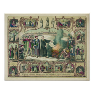 Life of Martin Luther & Heroes of the Reformation Poster