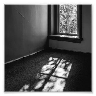 Light and Shadow Photographic Print