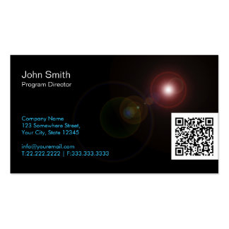 Light Flares Program Director Business Card