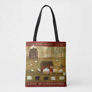 Lighten Your Load - Tote Tote Bag