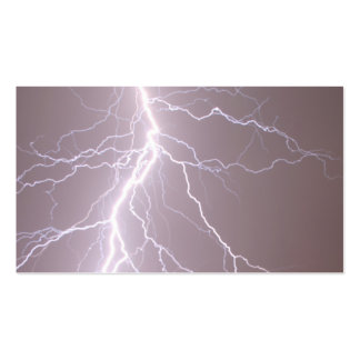 Lightning Strike - Business Cards