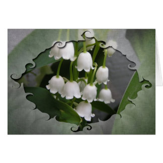 Lily Of The Valley Birthday Card