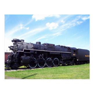 Lima-Baldwin Locomotive Nickel Plate Railroad #757 Postcard