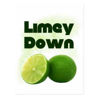 Limey Down Postcard