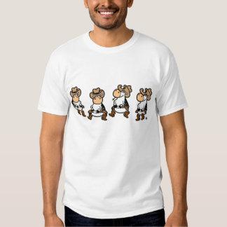 Line Dancing Cows T Shirt