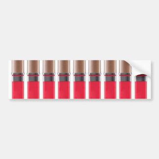 lipstick barcode bumper sticker