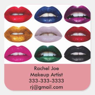 Lipstick Makeup Artist Sticker