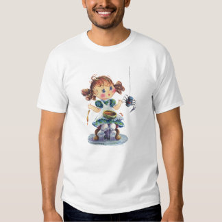 LITTLE MISS MUFFET by SHARON SHARPE T-shirts