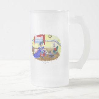 LITTLE MISS MUFFET FROSTED GLASS MUG