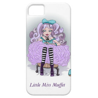 Little Miss Muffet Phone Case