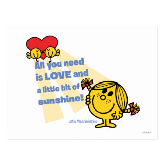 Little Miss Sunshine | All You Need Is… Postcard