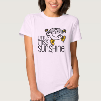 Little Miss Sunshine Walking On Name Graphic T Shirts