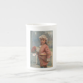 "Little Romeo ""To My Valentines"" Bone China Mug"