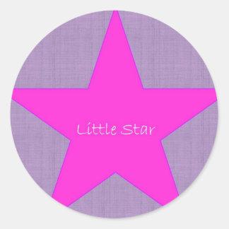 Little Star Round Sticker