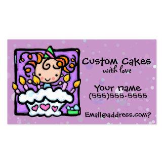 LITTLEGIRLIE Cake decorating Custom card Pack Of Standard Business Cards