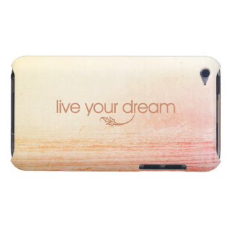Live Your Dream Barely There iPod Cases