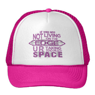 Living On The Edge hat