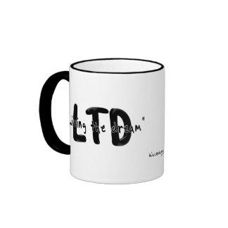 Living the dream ringer mug