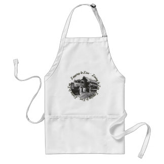 Living to Log, Logging to Live Standard Apron