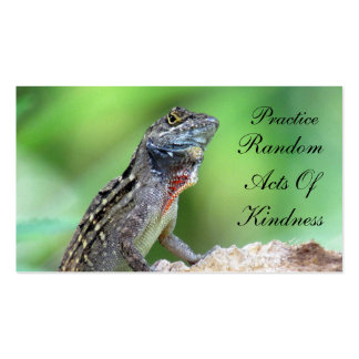 Lizard Random Acts of Kindness Card Pack Of Standard Business Cards