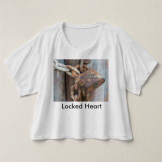 Locked Heart T Shirt