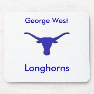 Longhorn, George West, Longhorns Mouse Pad
