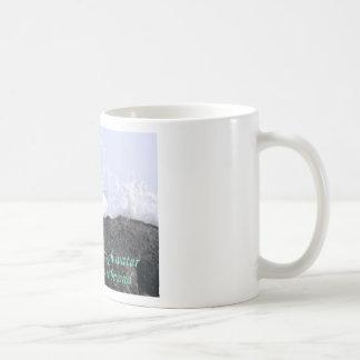 Look past the rough water mug