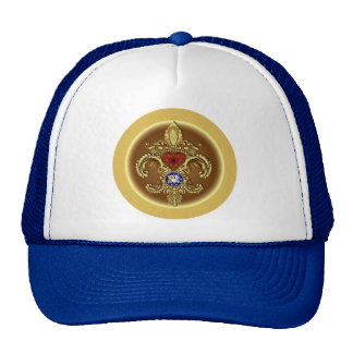 Louisiana Bicentennial Flor de lis View Hints Cap